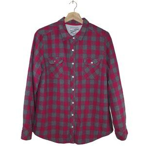 BC Clothing Fleece Lined Heavy Flannel Shirt